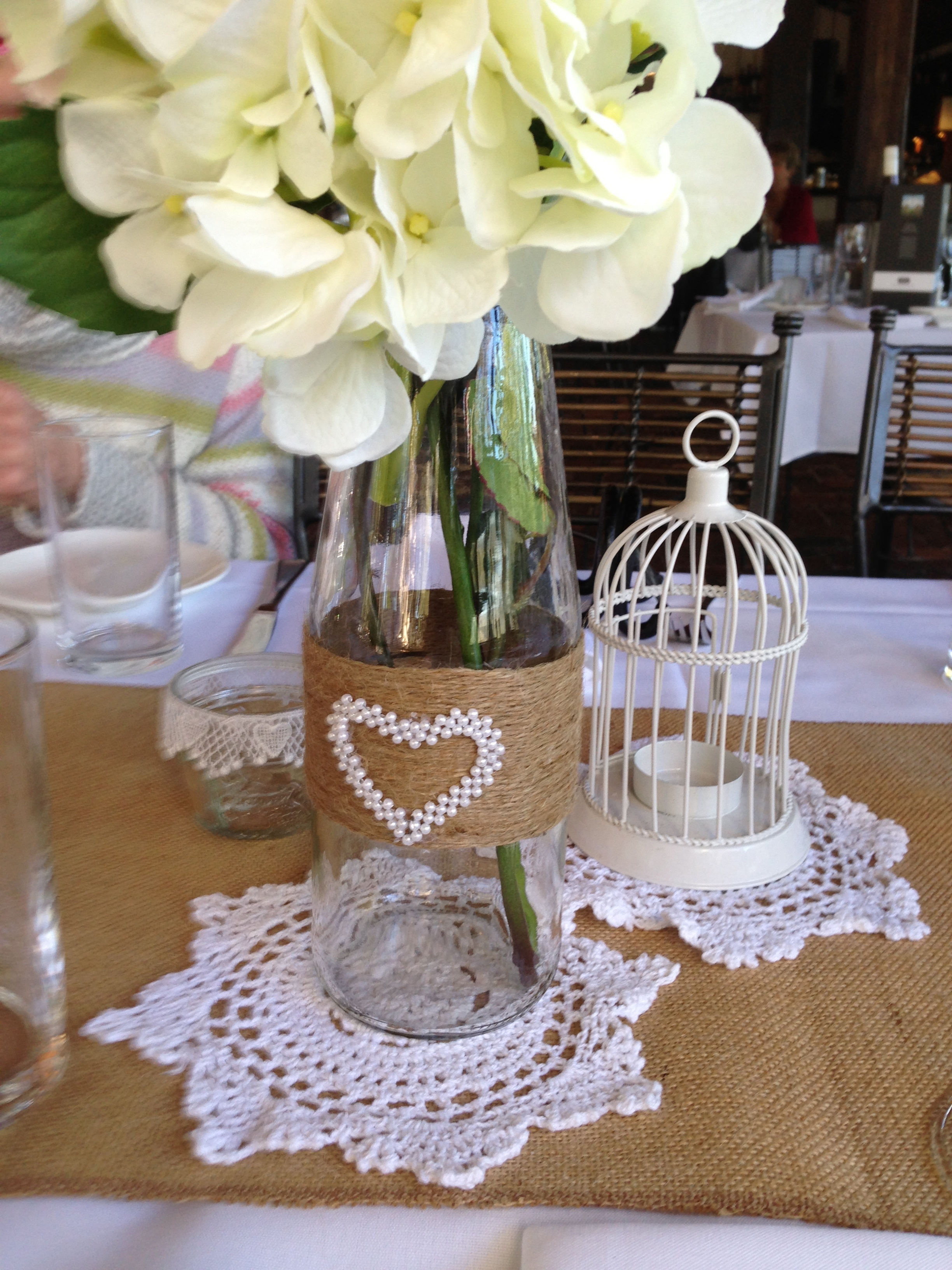 Hessian & the charm of Rustic - Affair with Flair